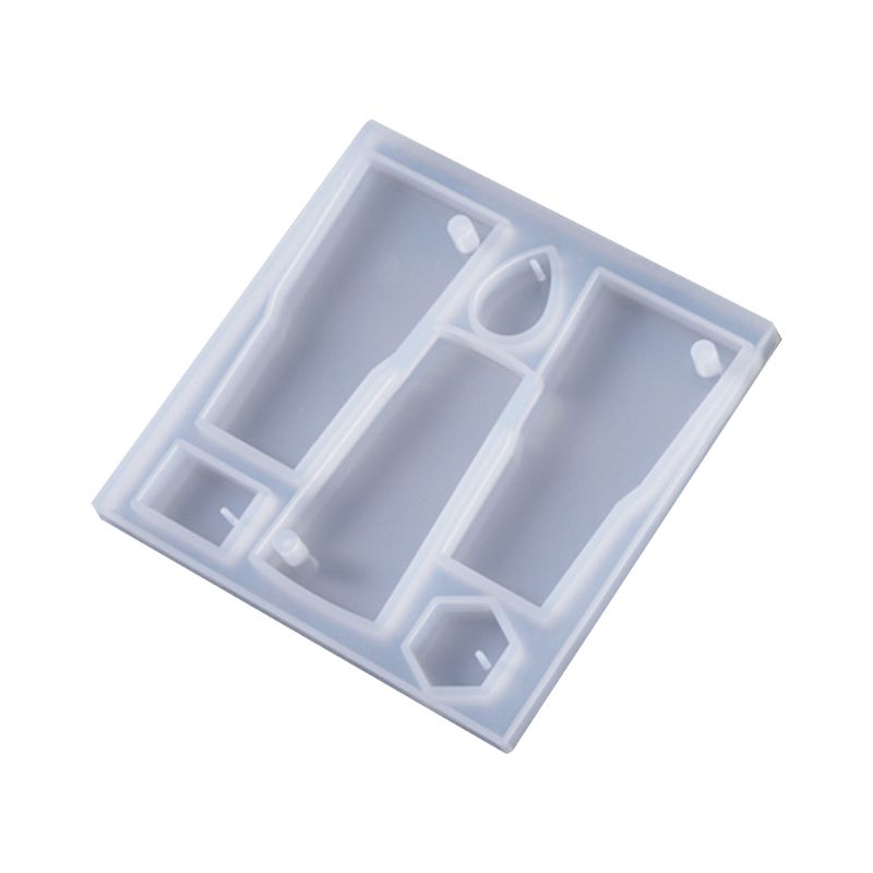 Irregular Pendant Key Ring Silicone Mold DIY Crystal Epoxy Earrings Epoxy Molds Ornaments Making Accessory T4MD
