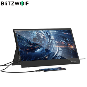 BlitzWolf BW-PCM6 17.3 Inch Touchable FHD 1080P Portable Computer Monitor Game Display Screen for Phone Tablet Laptopons Console