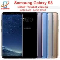 Samsung Galaxy S8 G950F 4GB RAM 64GB ROM NFC mundial versión 6,2