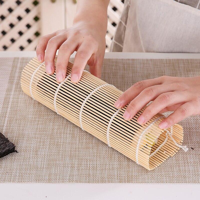 Японский набор для суши, коврик для суши, аксессуары bento, бамбуковые коврики, морские водоросли, ролл, инструменты для суши, прочный Набор для суши, инструменты для обеда-1
