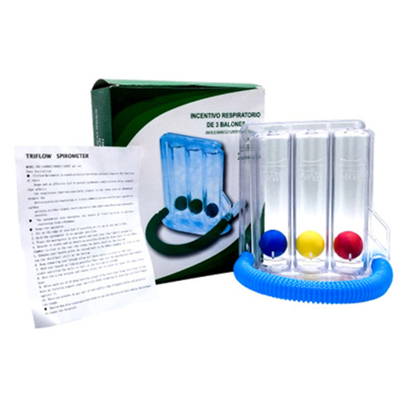 Three-ball Breathing Trainer/Deep Breathing Lung Exerciser 4