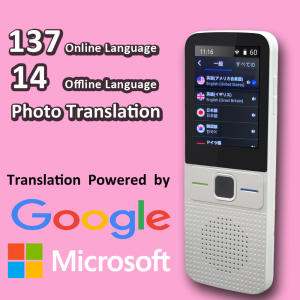 CTVMAN Language Translator Offline Translator Voice Offline Smart Translators Portable Translator Offline Portuguese Russia