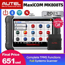Autel MaxiCOM MK808TS OBD2 Scanner Car Diagnostic Scan Tool For Auto OBD 2 TPMS Sensor Programing PK mk808bt MP808TS