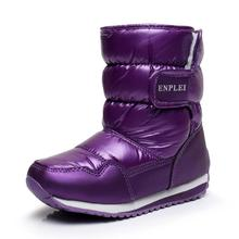 SKEHK Girls Snow Boots Children Shoes Winter Boots For Girls Sport Child Shoes Kids Sneakers Brand Fashion Wool Boots
