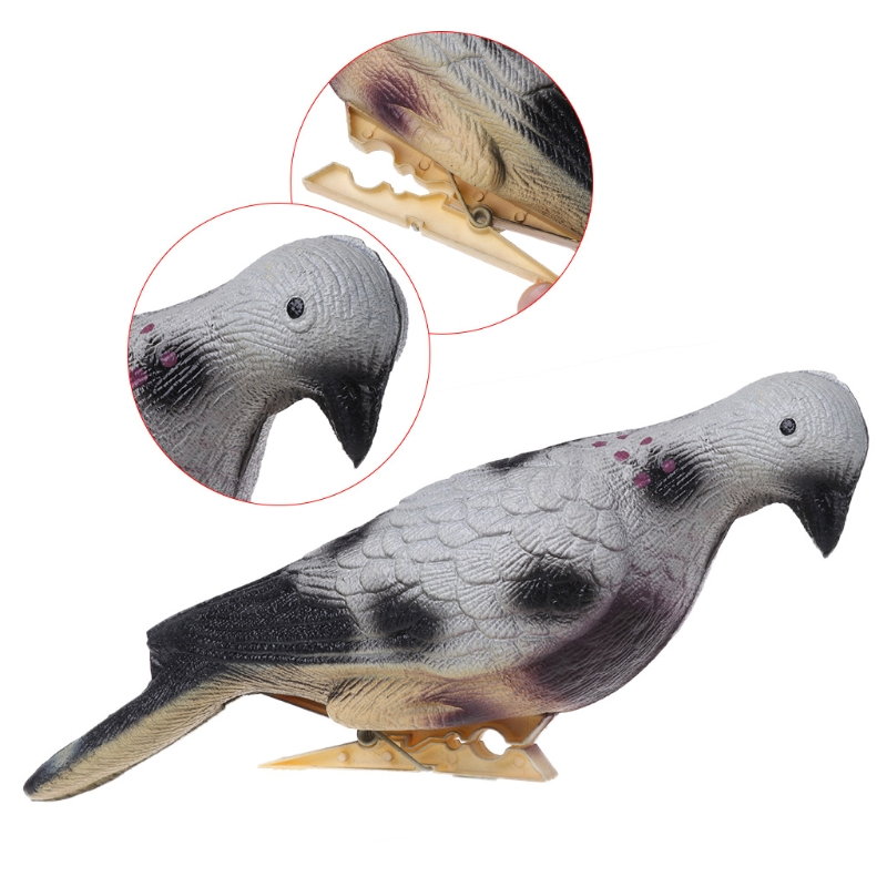 Artificial Pigeon 3D Shooting Training Target Archery Hunting Bow EVA Foam Bait