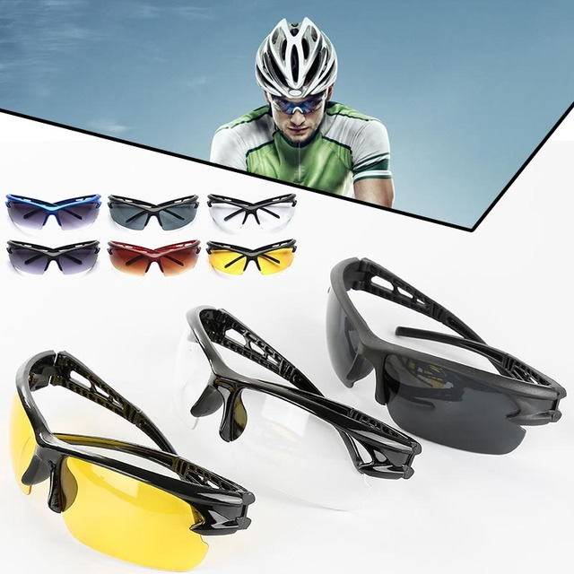 Cycling Sunglasses Bicycle Bike Sunglasses Riding Running  Outdoor Sports Goggle Polarized Sandproof Glasses Travel Eyewear Hot 5