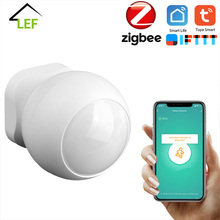 Tuya Zigbee PIR Infrared PIR Motion Detection Smart Sensor Wireless Security Alarm Detector System