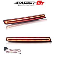 אירופאי סגנון מעושן אדום עדשת LED אחורי מחזירי פגוש אורות זנב בלם אורות אחורי ערפל אורות עבור 2011 2015 פורד Explorer