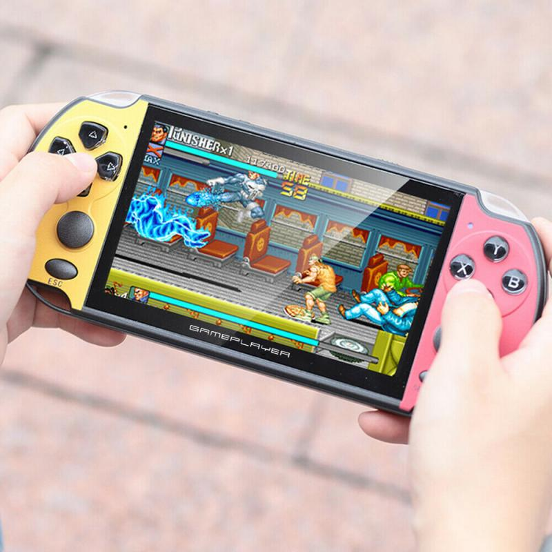 PSP HD מסך 5.1inch רוקר כפול כף יד PSP קונסולת המשחק מובנה עשרה משחקים באלפים תמונת תמיכת mp4 mp3 לשחק ספר אלקטרוני (4)