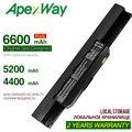 ApexWay 11,1 v A32-k53 Laptop Batterie Für ASUS a32 k53 K53SV K53 K53B K53BY K53E K53F K53J K53S K53SD K53SJ x54h k53t