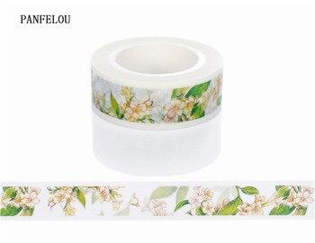 10M*10mm Wild flowers Sticker Washi Masking tape Quality good price HOT sell  DIY Scrapbook Embellishments Decoration