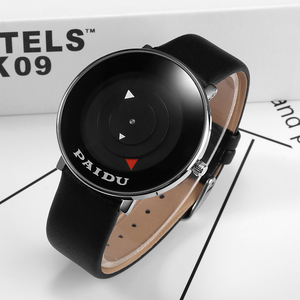 Уникальный Стильный Простой дизайн Циферблат мужские s часы лучший бренд PAIDU роскошные модные мужские часы мужские наручные часы Relogio Masculino