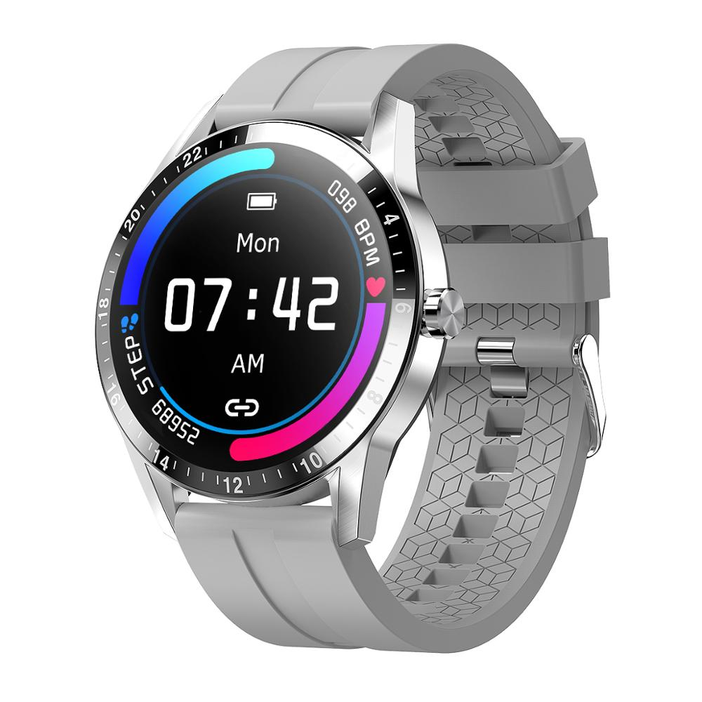 Bluetooth Call Smart Watch Full Touch Business Wristwatch Blood Pressure Heart Rate Sports Fitness Tracker Smart Watches For Men