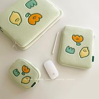 Semo-funda para iPad Air 4 Lemon, Original, coreana, verde, 11