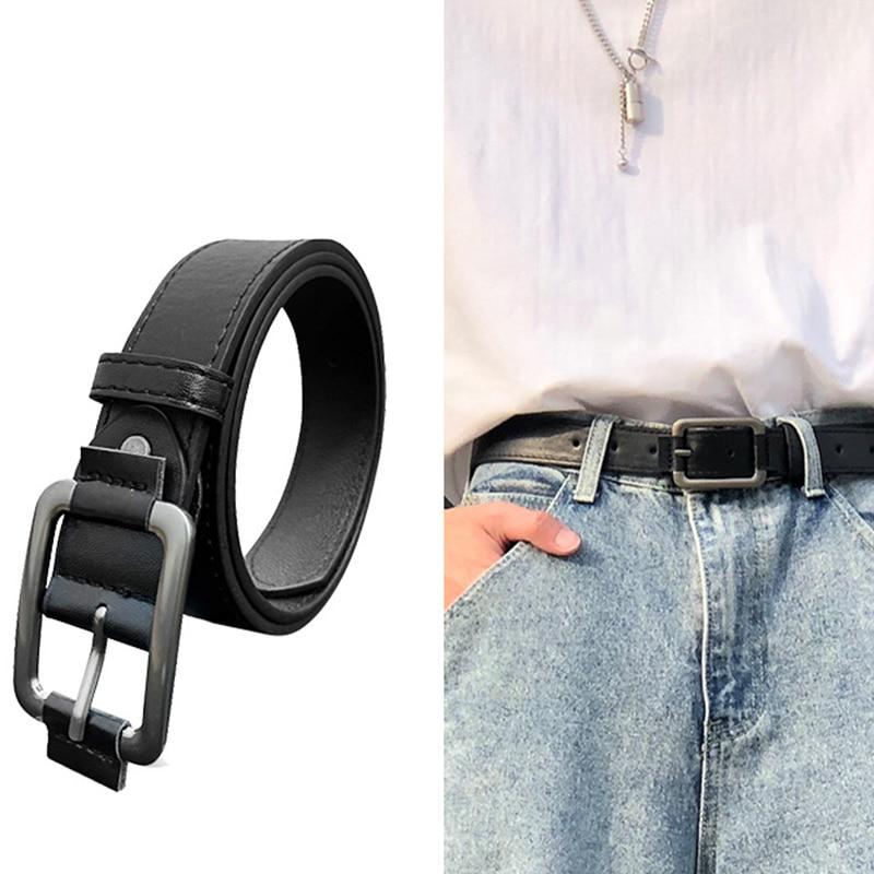 Men's Belt Net Red Hot Style 2021 Korean Version Of The Trend Of Men's Belts Casual Student Belts Decorative Fashion Belts