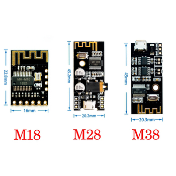 1PCS MH-MX8 Wireless Bluetooth MP3 Audio Receiver Board Module BLT 4.2 mp3 Lossless Decoder Kit High Fidelity HIFI M18 M28 M38 image