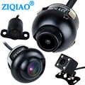 Auto CCD Dual Videocamera vista posteriore Parcheggio della Macchina Fotografica di 360 ° di Rotazione Anteriore/Posteriore/Sinistra/Destra Vista di Visione Notturna di HD impermeabile ZIQIAO