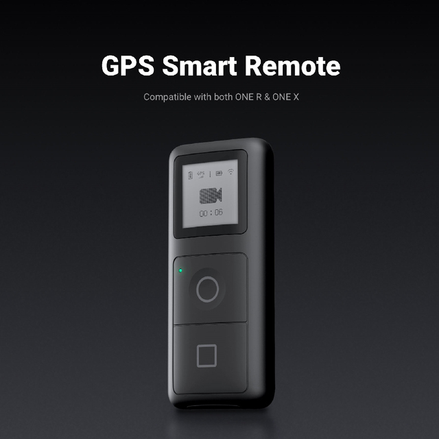【 ב STOCK】 Insta360 אחד R אחד X שלט רחוק GPS חכם בקר