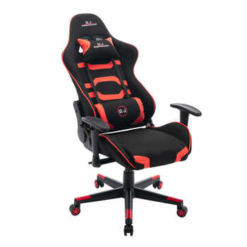 LOL Internet Cafes Sports Racing Chair WCG Play Gaming Chair Gaming Chair Office Desk Chairs-Gamer Swivel Heavy Duty Chair Red