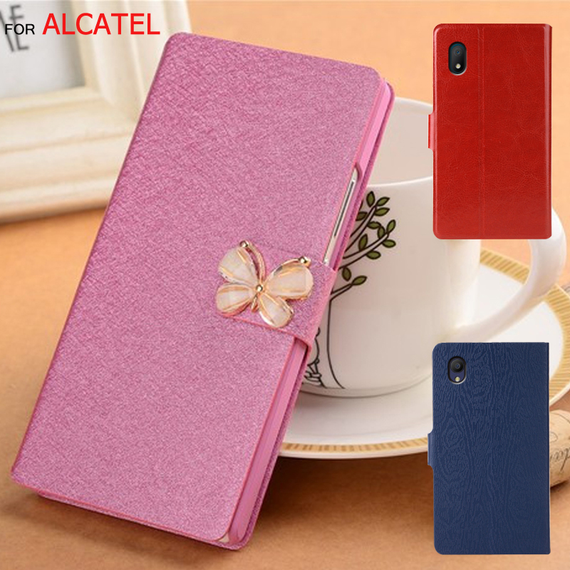 Luxury Leather Case For <font><b>Alcatel</b></font> 3L 2019 <font><b>5039D</b></font> <font><b>Alcatel</b></font> 3 5053 Flip Stand Cover For <font><b>Alcatel</b></font> 3L 2020 Coque Capa Case image
