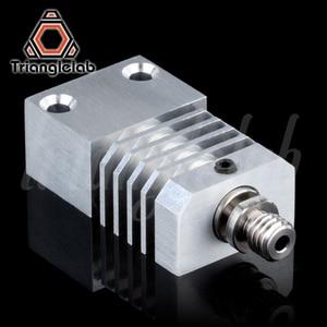 Image 2 - Trianglelab Schweizer CR10S PRO Hotend upgrade KIT Präzision aluminium Kühlkörper Titan Wärme PAUSE 3D drucker Hotend für CR 10S PRO