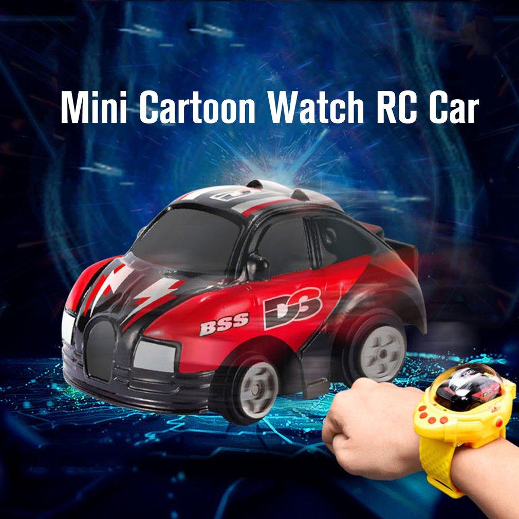 Купить мини мультяшные часы автомобиль с дистанционным управлением