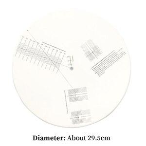 Image 5 - Giradischi Goniometro Stilo HIFI Cartuccia di Allineamento Distanza Calibro Phono LP In Vinile Strumento di Regolazione Piastra di Calibrazione Zerbino Righello