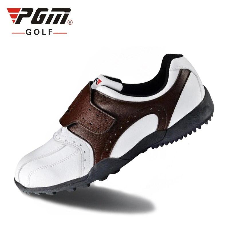 Masculino à Prova Sapatos de Golfe Sapatos de Couro Esportes de Fitness Dwaterproof Água Respirável Macio Homem Antiderrapante Wearable B1337 Pgm