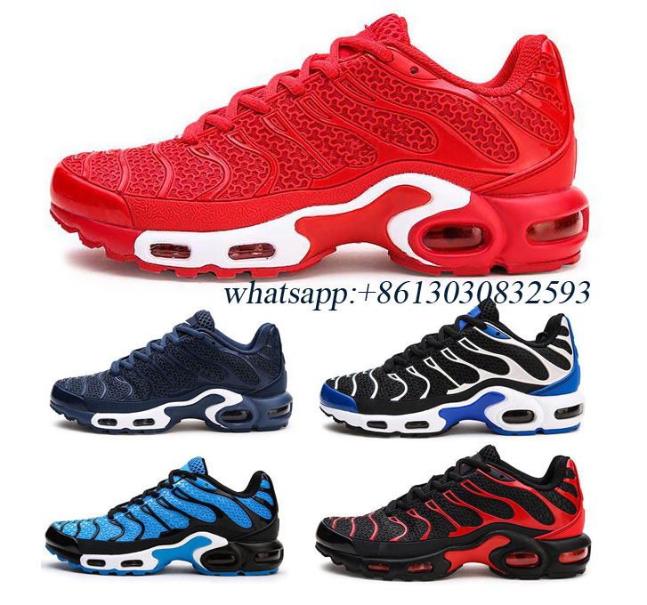 Original Men Running Shoes Sneakers 2019 TN Mercury Plus KPU For Men's Running Shoes Sport Shoes Sneaker Size 40-47 7-13