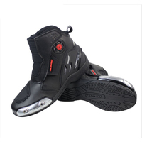 Scoyco Motorcycle Microfiber Leather Boots bota motocross Off Road Racing Ankle Protective Gear Boots moto shoes MR002