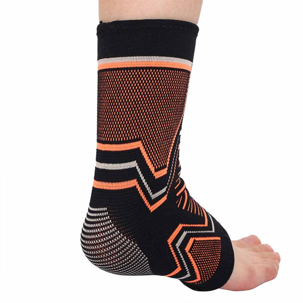 Unisex Sports Ankle Knitting Volleyball Tennis Breathable Compression Foot Sleeve Ankle Brace Pain Relief Ankles Support