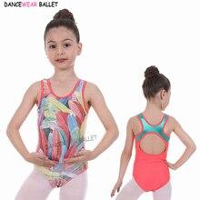 Toddler Girls Leotard Children Teens Rhythmic Gymnastics Leotards Sparkly Skate Ballet Dance Costume Unitard For Girl Kids