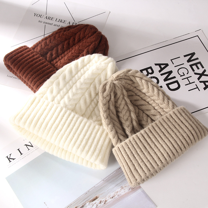 Hat Earmuffs Korean-Style Female Winter Outdoor Thick Warm And Autumn Student-Cap Hua