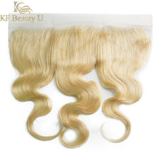 613 Blonde Human Hair Lace Closure 4x4 5x5 Lace Closure 13x4 Lace Frontal Hand Tied Transparent Lace Honey Blonde Hair for Women