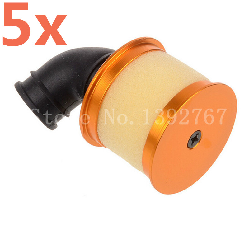 Durable 1//8 Scale RC Car Alloy Air Filter RC Model Vehicles Spare Parts