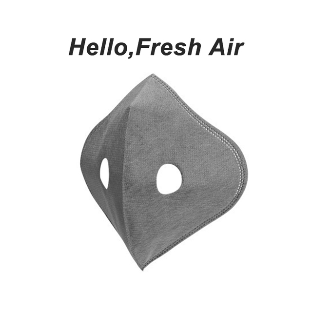 Face Mask With Filter Breathing Valve Activated Carbon PM 2.5 Anti-Pollution Bicycle Cycling Sports Protection Bike Dust Mask 5