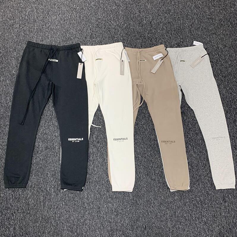 Latest Top Hip Hop 3M ESSENTIALS Season 6 Letter Embroidery Leisure Trousers Streetwear Men Women Cotton Fashion Sweatpants Pants