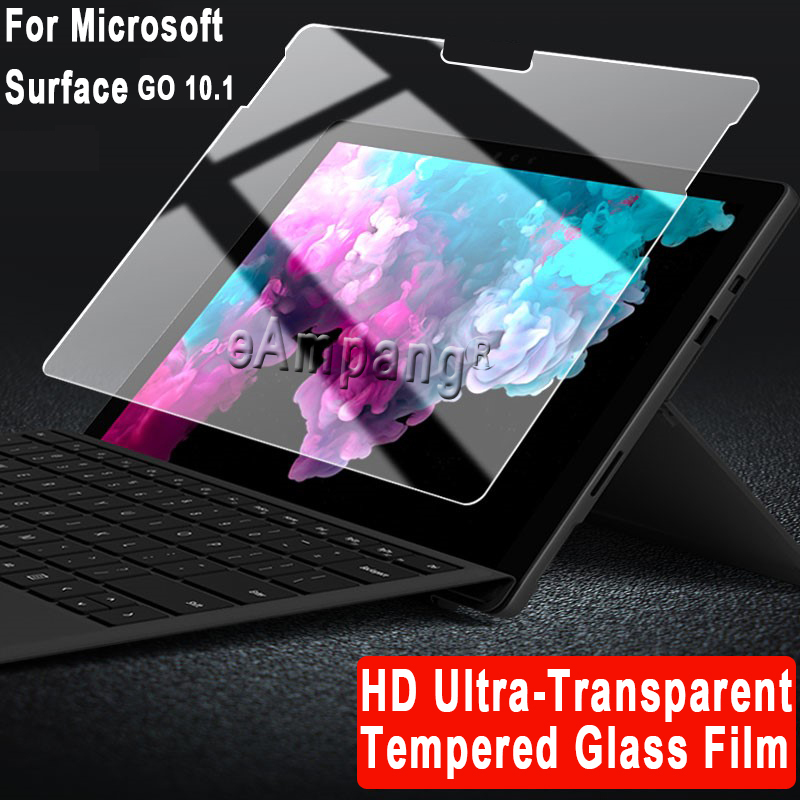 Tempered Glass for Microsoft Surface 3 Pro 3 Pro 4 Pro 5 6 7 12.3 Go 2 10.1 10.5 Cover Protective Film Tablet Screen Protector