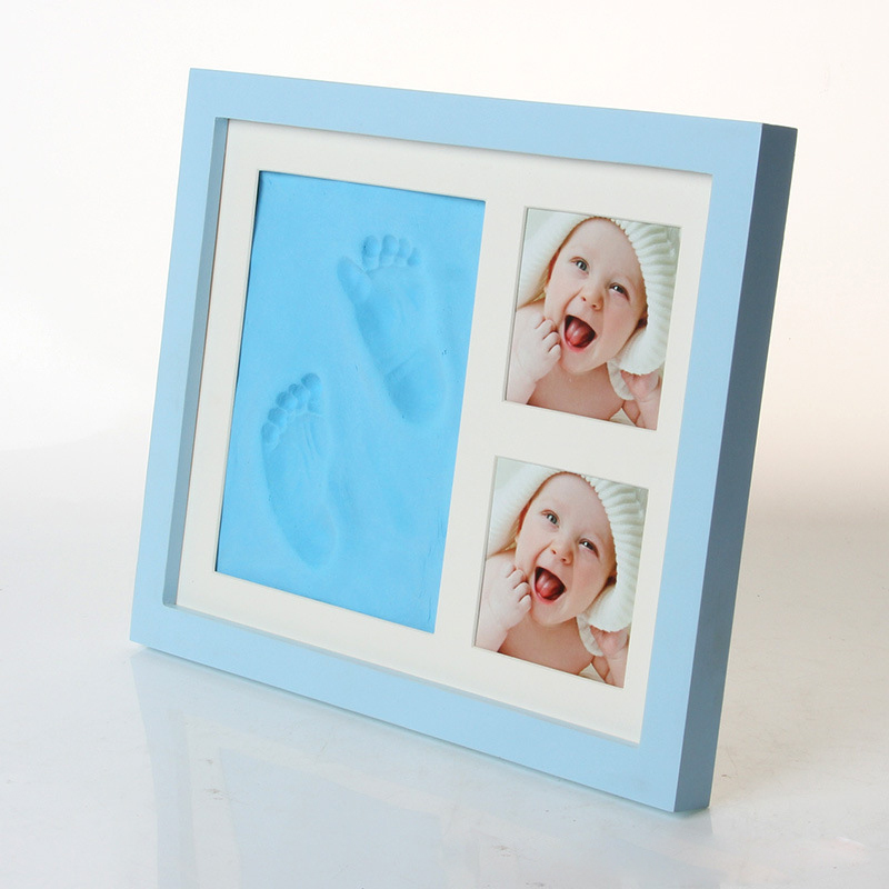 Bebes Baby Birthday Gift Baby Footprint Hand Baby Photo Frame Baby Souvenir Hand Footprint Baby Items اطفال תינוקות  детск детск