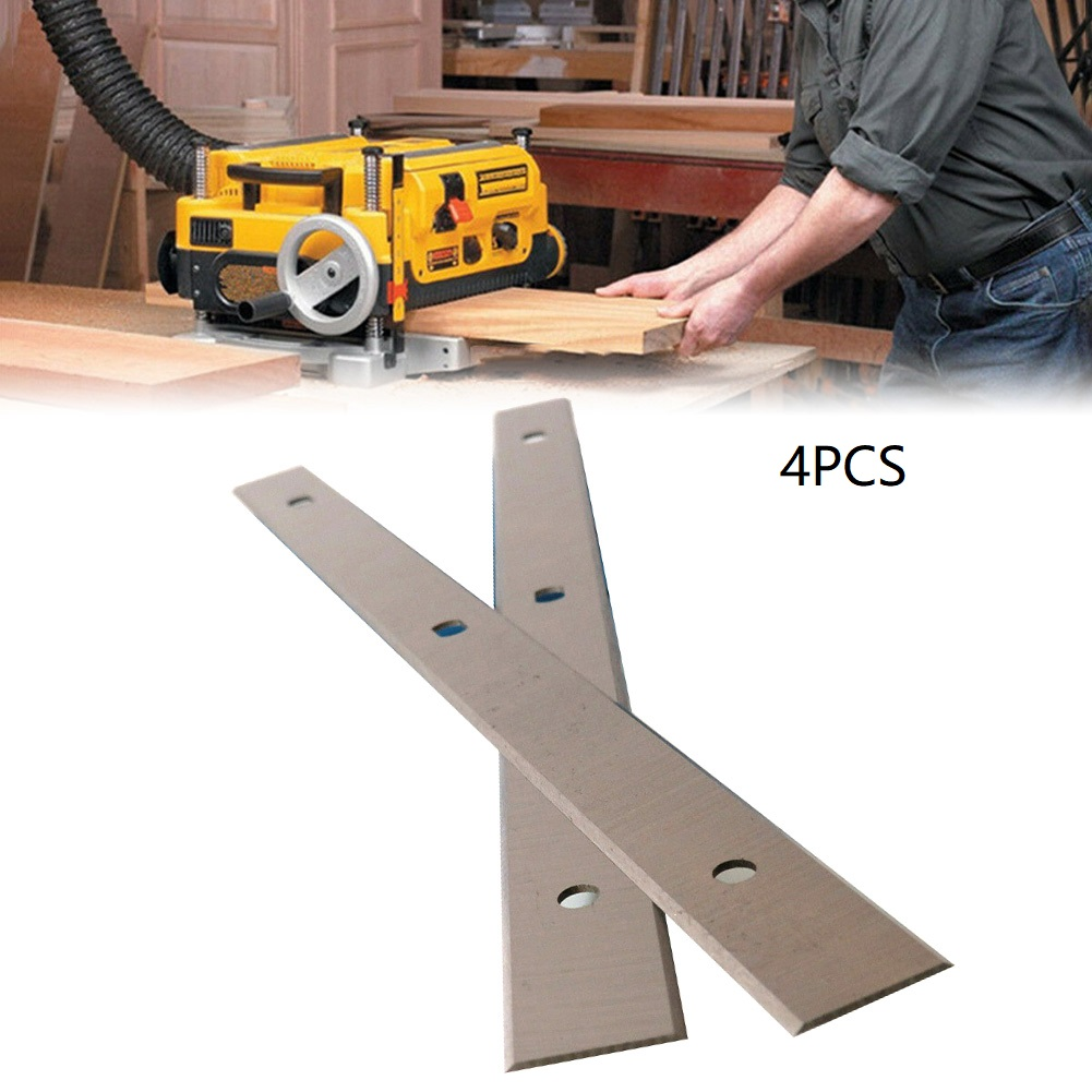 4Pcs 260mm HSS Planer Blades Electric Planer Knives Woodworking Machinery Parts For Elektra Beckum HC260 Planer Machine