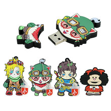 Mafalda 128 Gb Sleutel Usb Apparaat Game Grappig Pendrive 32G Usb Flash Drive 32Gb 64Gb 8 Gb 4Gb 16Gb 128 Gb 256Gb Pen Drive Memory Stick