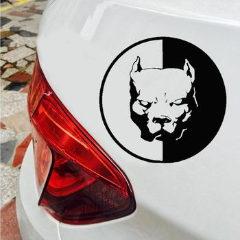 Cool Reflective Dog Car Sticker Auto Truck Door Window Warning Decal car accessories 2020 image