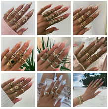 26 Design Boho Vintage Gold Star Midi Moon Rings for Women Opal Crystal Midi Finger Ring 2020 Female Bohemian Jewelry Gifts 26 design boho vintage gold star midi moon rings for women opal crystal midi finger ring 2020 female bohemian jewelry gifts