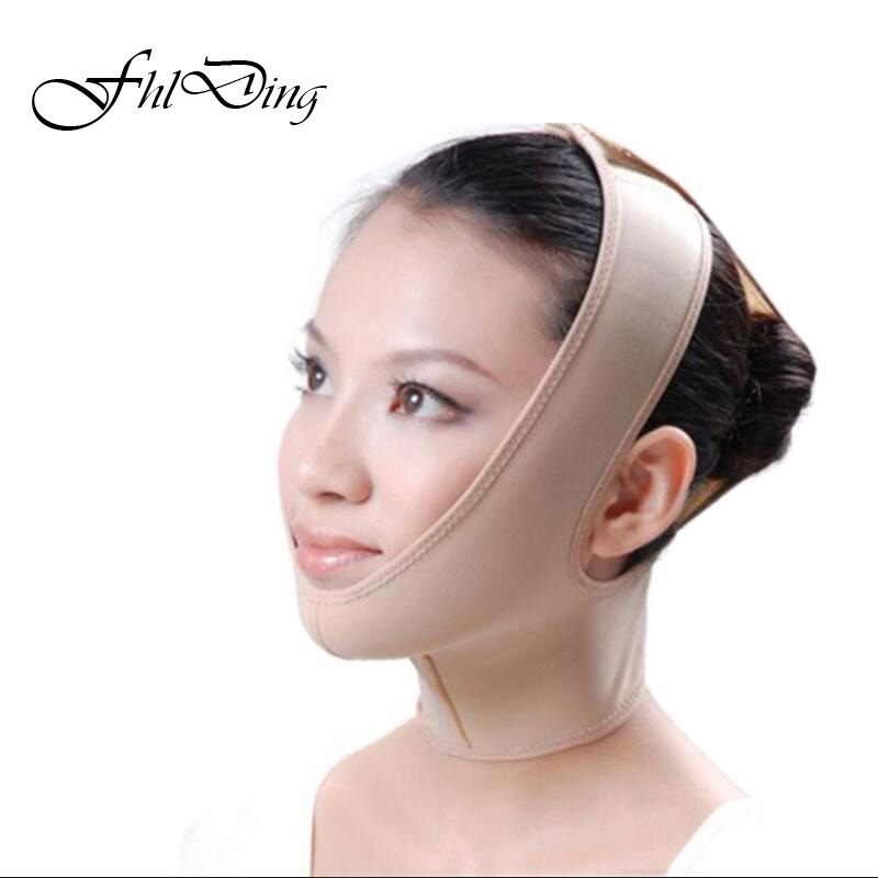 Hot Delicate Facial Thin Face Mask Slimming Bandage Skin Car…