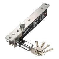 LPSECURITY 2000 kg força portão porta elétrica gota trinco para porta de entrada principal de entrada fechadura da porta com chaves de atraso do temporizador função