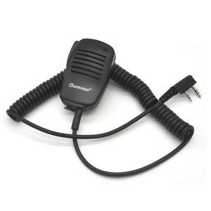 Image 1 - WOUXUN Original Microphone WOUXUN K1 Wired stereo PTT Speaker Microfono for KG UV9D plus KG UV6D KG UVD1P KG D900 Portable Radio