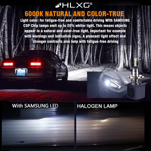Image 5 - HLXG 2 шт 4 стороны лампочки H4 H7 светодиодный автомобильные комплект лед лампа 10000LM CSP чипы H8 H11 9006 HB4 9005 HB3 светодиодный авто светодиодные лед лампы н7 н4 led светодиодная фара