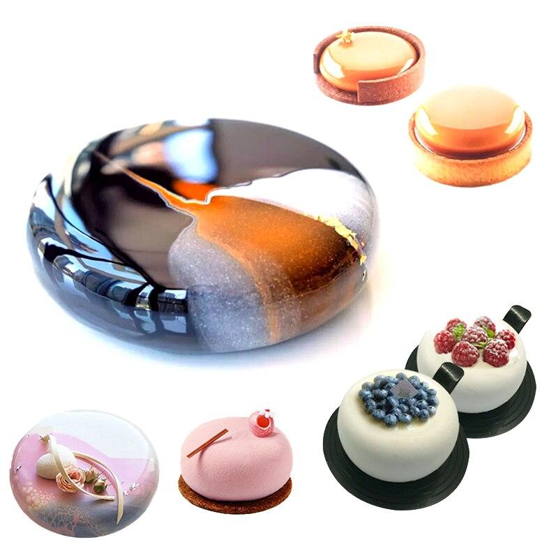 Meibum 5 типов сжатая мусс формы для выпечки Инструменты Силиконовые формы для выпечки для желе для выпечки, украшающие Кухня жаропрочная посуда для десерта в комплекте Формы для тортов      АлиЭкспресс