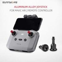 Sunnylife-palanca de Joysticks de aleación de aluminio CNC, cubierta mecedora de pulgar para mando a distancia MAVIC AIR 2S / Mavic Air 2 / Mavic Mini 2