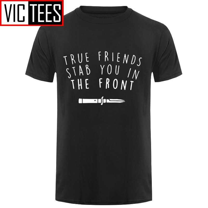 גברים Bmth חולצה להביא לי את אופק T חולצה חברים אמיתיים דקירה בחלק הקדמי קלאסי טי חולצת כותנה גרפי חולצת טי זכר